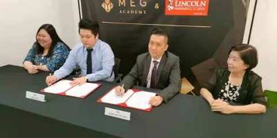 MEG 与林肯携手并肩推动理财和创业课程